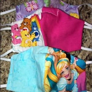 Disney Princess Care Bears Butterflies Kids Mask